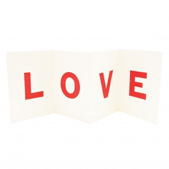 H&S LOVE card lighter