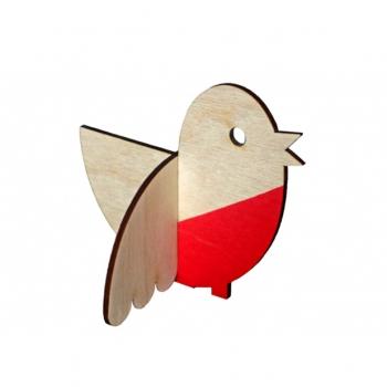 Wooden robin