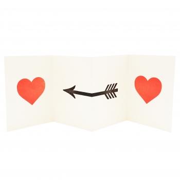 Hearts card lighter