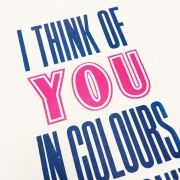 I think of you print 3