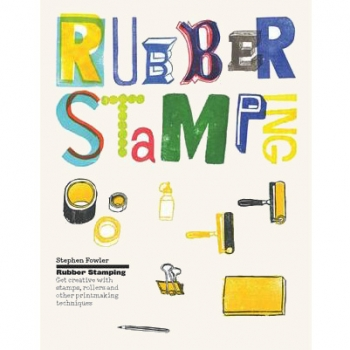 Rubber stamping book